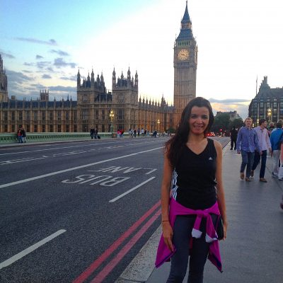 Londres – ginásio não, caminhadas sim!