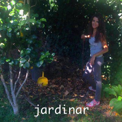 Entrego-me à jardinagem? SIM