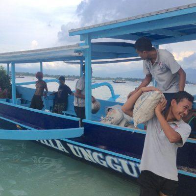 Gili Trawangan – pernas, bicicletas e carroças animais