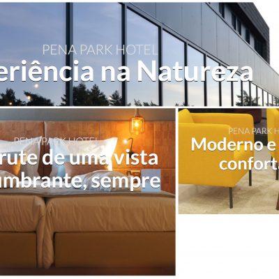 PASSATEMPO – voucher Pena Park Hotel, Natureza****