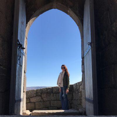 Entrada a norte no Castelo de Lamego