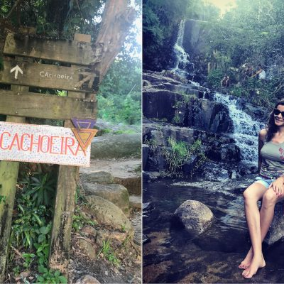 Time Off na Cachoeira!