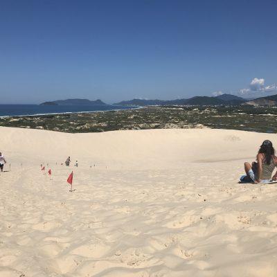 Praia da Joaquina – a aventura do Surf nas dunas