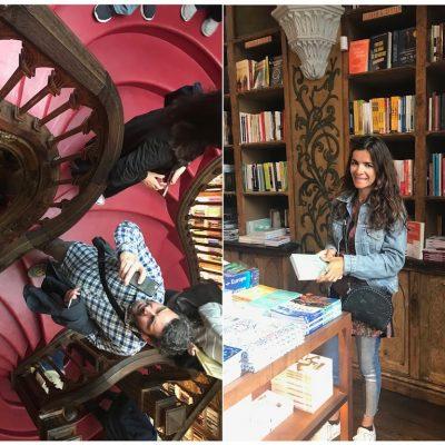 Paragem na livraria mais bonita do mundo, Livraria Lello