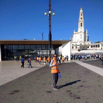 Nossa Senhora de Fátima no comando da peregrinação – Santuário!