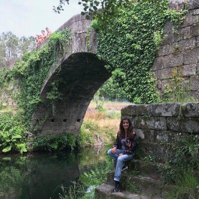 Ponte medieval, Vilar de Viando – hoje 'liga' pessoas!