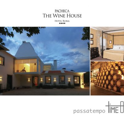 PASSATEMPO – Voucher Quinta da Pacheca, The Wine House Hotel****