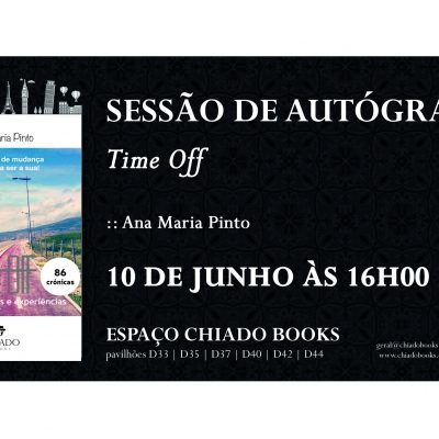 Sessão de Autógrafos, EU?!? – Feira do Livro de Lisboa