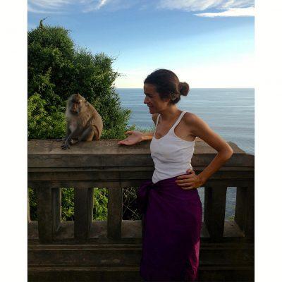 Bali – feliz, mas 'desarada' com a despedida