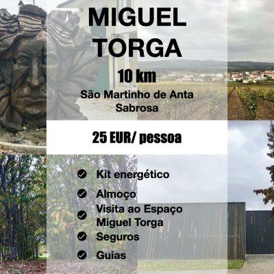 Novidade: Caminhada time off Miguel Torga!